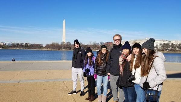 Washington DC:  With Teenagers