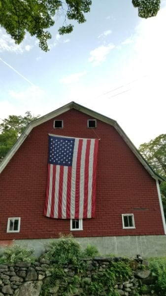 New England flag