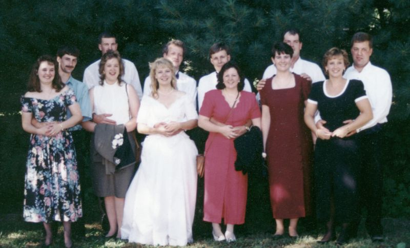 group at our wedding