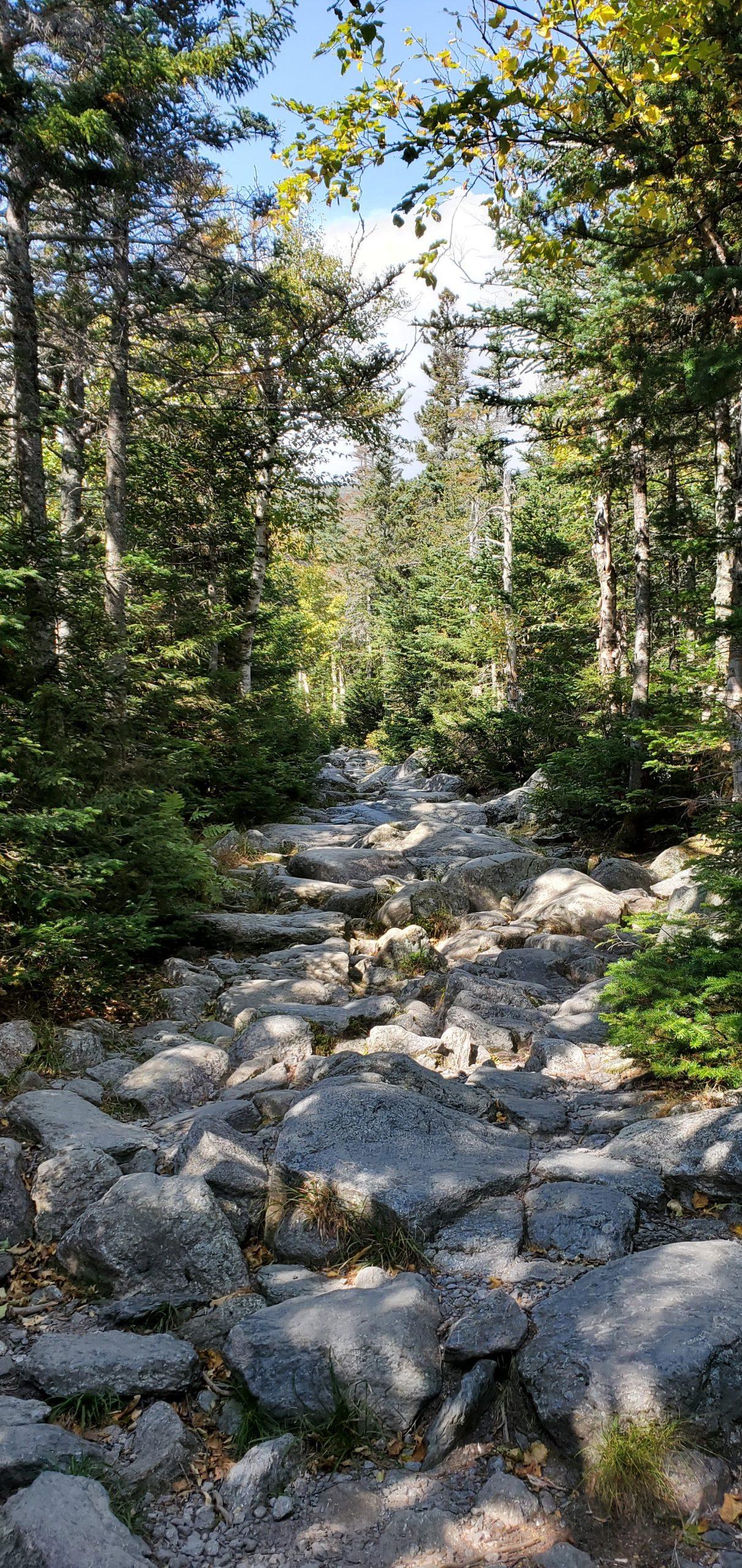 hiking rocks