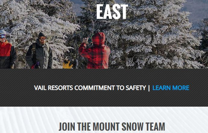 mount snow jobs